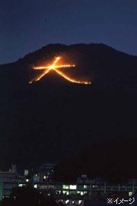 京都のおもてなし空間で「五山全ての送り火」を鑑賞3