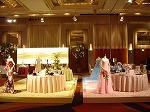 大阪市内のホテルで2008年のテーブルデザインを!1