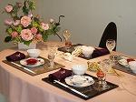 姫路の山陽百貨店にて季節のテーブルを毎月コーディネート