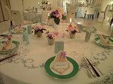 ウエディングのテーブルデザイン2