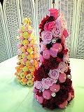 山陽百貨店でプリザとお菓子のマリアージュ3