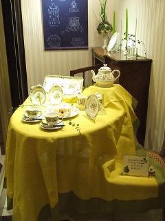 ハービス大阪のフランス洋食器メーカージアンブテック大阪にて1