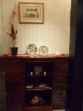 ハービス大阪のジアンブティクで1月のテーブルディスプレー1
